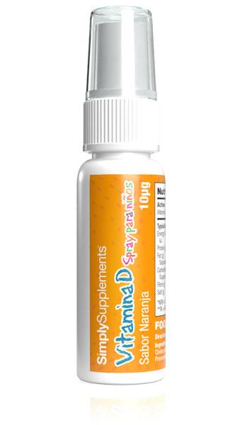 Vitamina D Spray para Niños 400iu