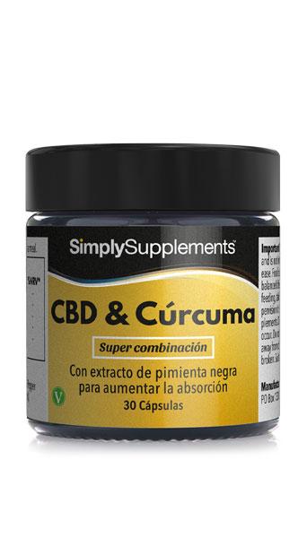 CBD & Cúrcuma con pimienta negra