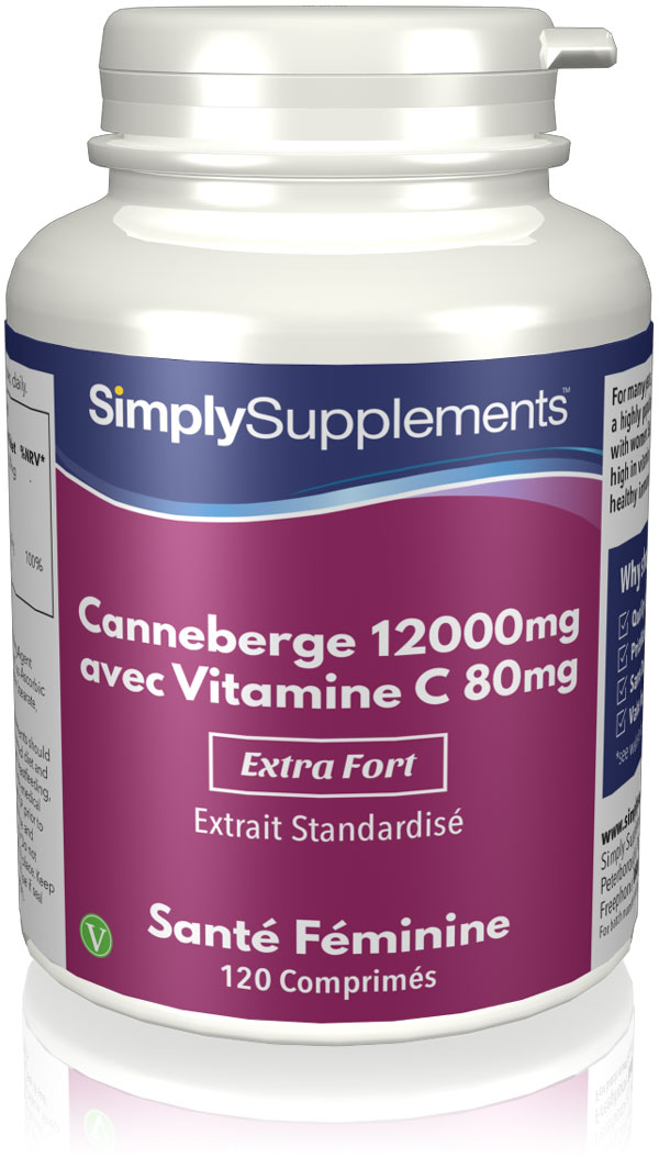 Canneberge 12000mg | Vitamine C 80mg