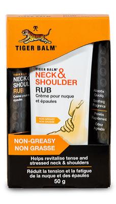 Baume du Tigre pour Nuque et Épaules