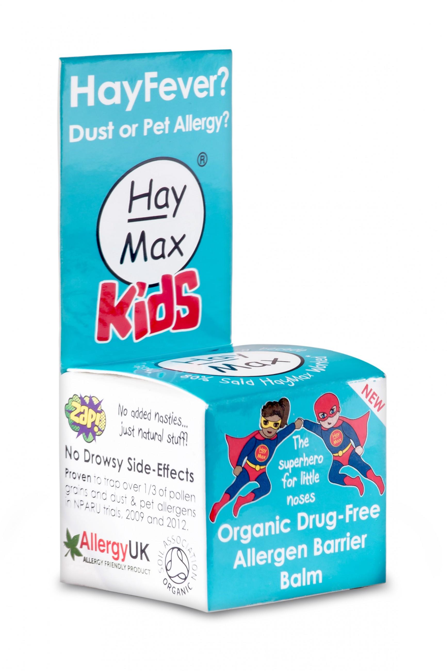 HayMax Kids Baume Écran Anti-Allergène Bio