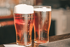 Alcoholic drinks are packed with calories, and can quickly derail and otherwise-successful diet.