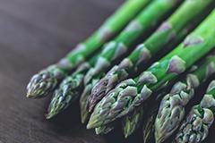 Vitamin B1 is found in asparagus.