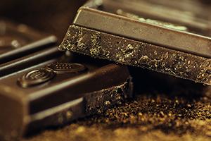 dark chocolate brain food