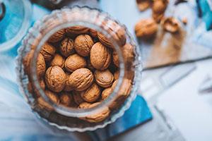 nuts brain food