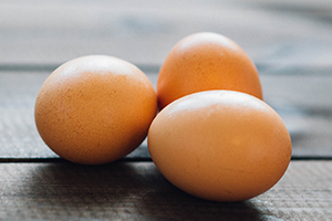 Eggs are a rich source of lutein in the diet.