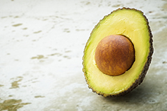 Avocados are a rich source of biotin.