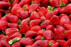 Strawberries are rich in vitamin C, which experts believe may help to improve mail fertility.