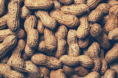 Peanuts are a great source of vitamin B3.