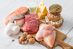 Increasing your protein intake when losing weight is a fantastic way of avoiding hunger on a calorie-controlled diet.