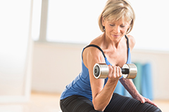 Resistance training can reverse symptoms of sarcopenia