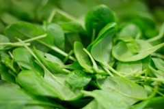 Spinach, being rich in iron, can help to ensure your hair receives all the nutrients it needs.