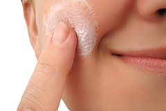 Topical creams can often improve acne if used gently.