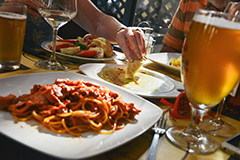 Eating out frequently can risk ruining your weight loss efforts.