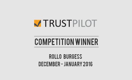 our-december-january-trust-pilot-prize-draw-winner