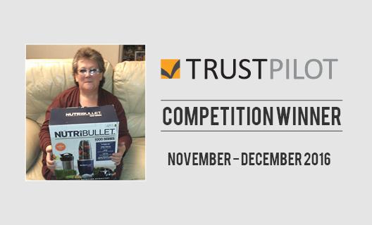 our-november-december-trust-pilot-prize-draw-winner