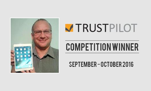 our-september-october-trust-pilot-prize-draw-winner