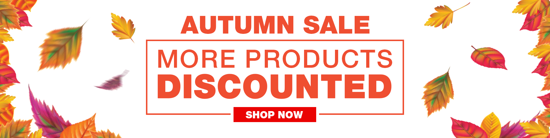 Autumn Sale - More Products Added