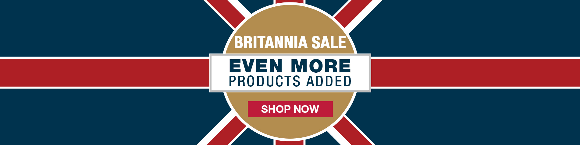 Britannia Sale - More Products Added