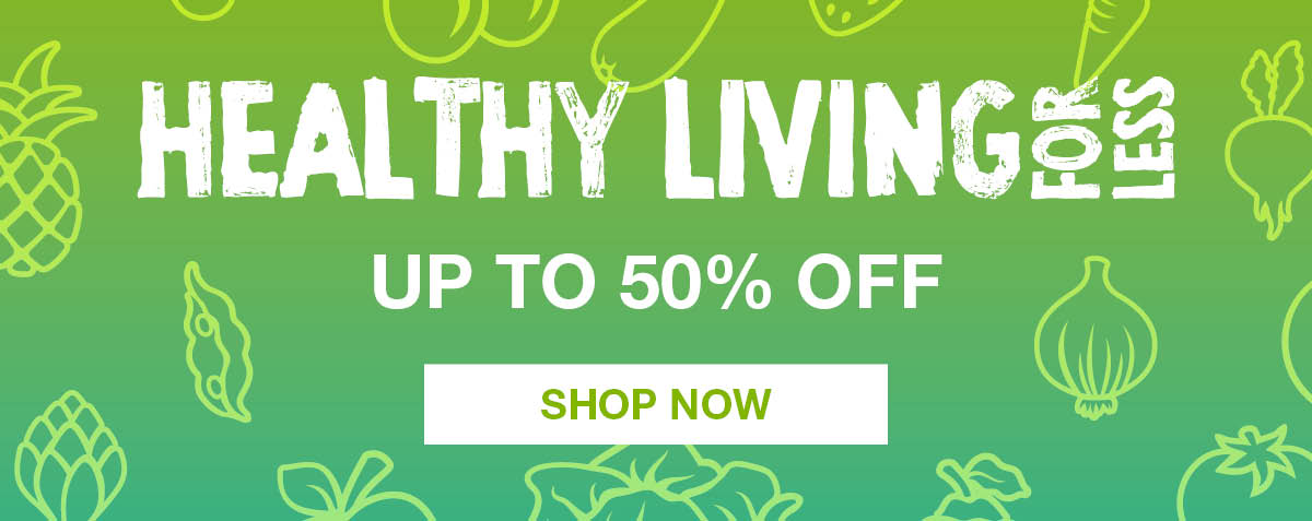 Healthy Living for Less - shop the sale