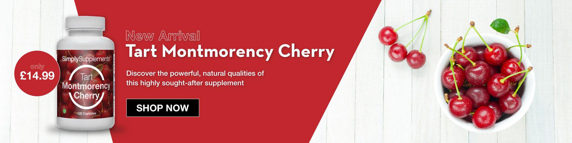 New Tart Montmorency Cherry Capsules