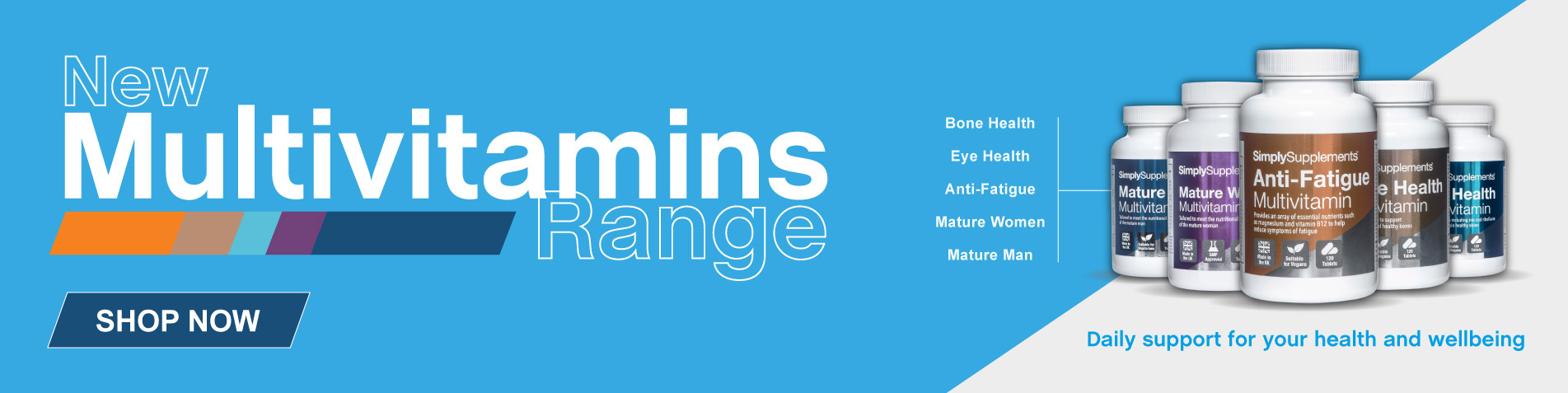 New Multivitamins Range