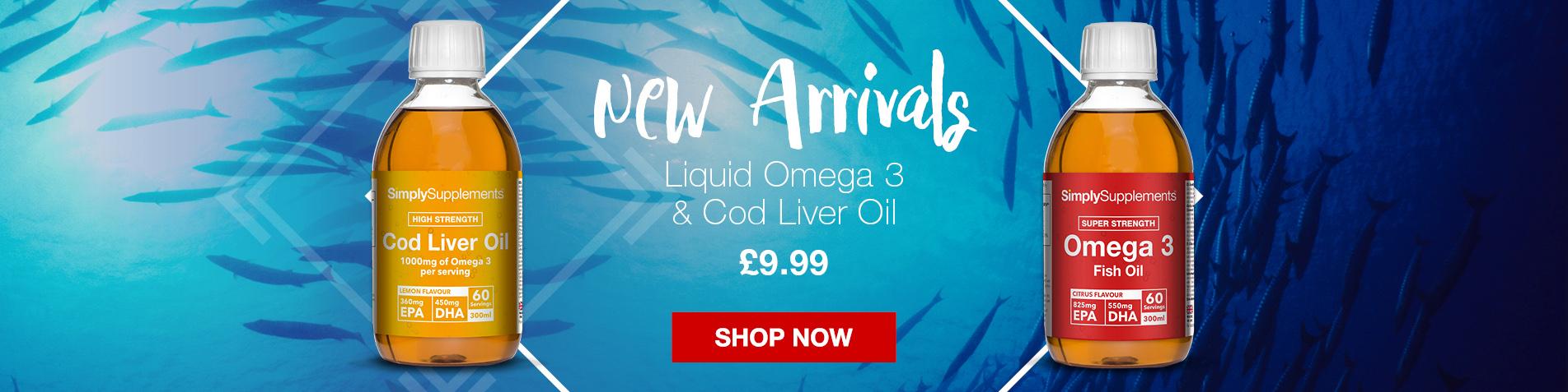 New Liquid Fish Oil Supplements