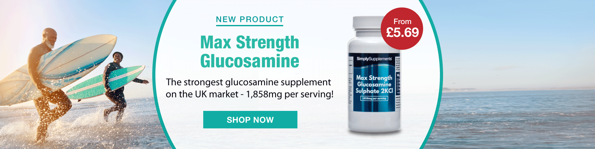 New - Max Strength Glucosamine