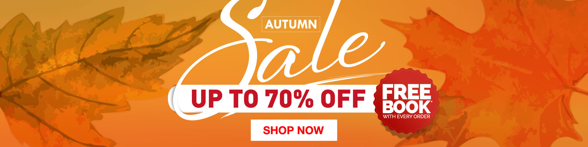 Autumn Sale - up to 70% off