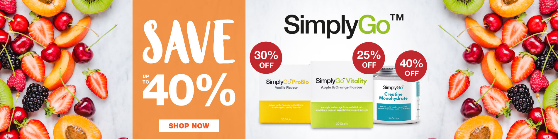 SimplyGo - up to 40% off