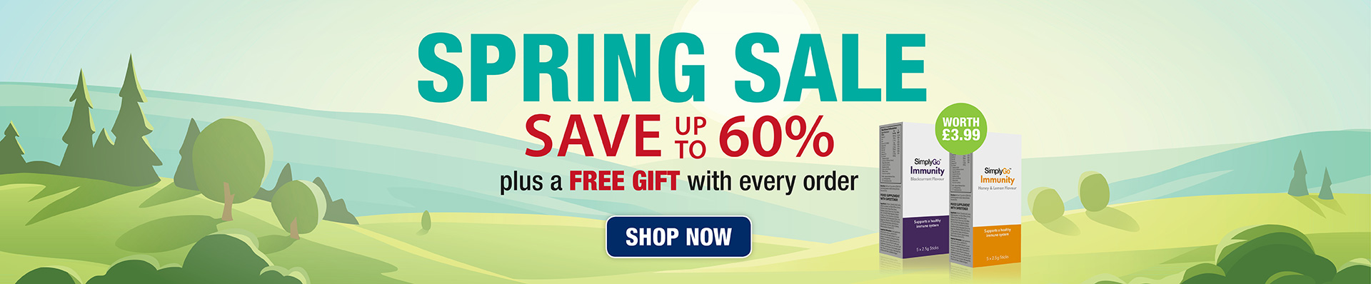 Spring Sale - up to 60% off