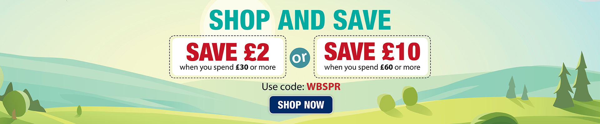 Shop and Save Spring Sale