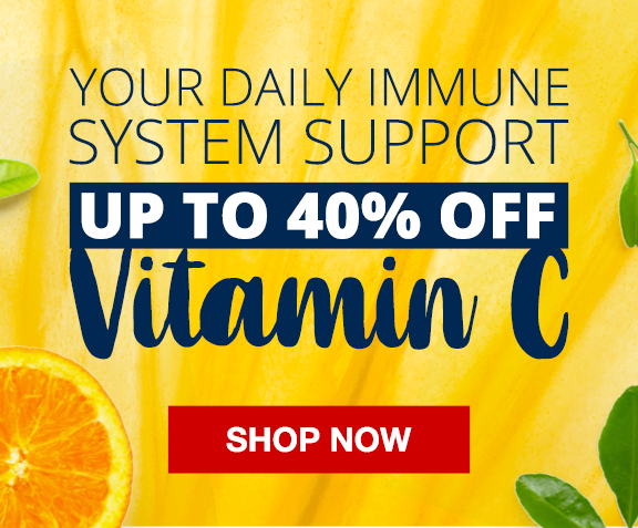 up to 40% off vitamin c