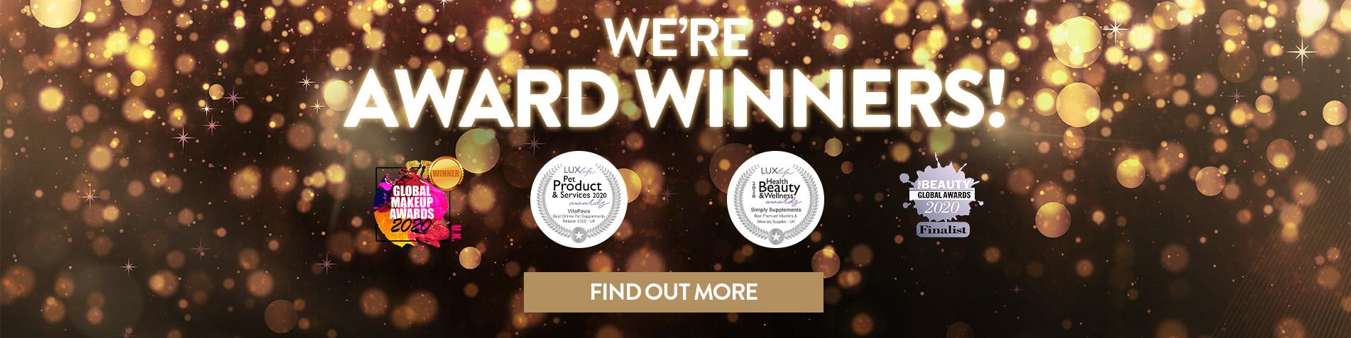 We're Award Winners!