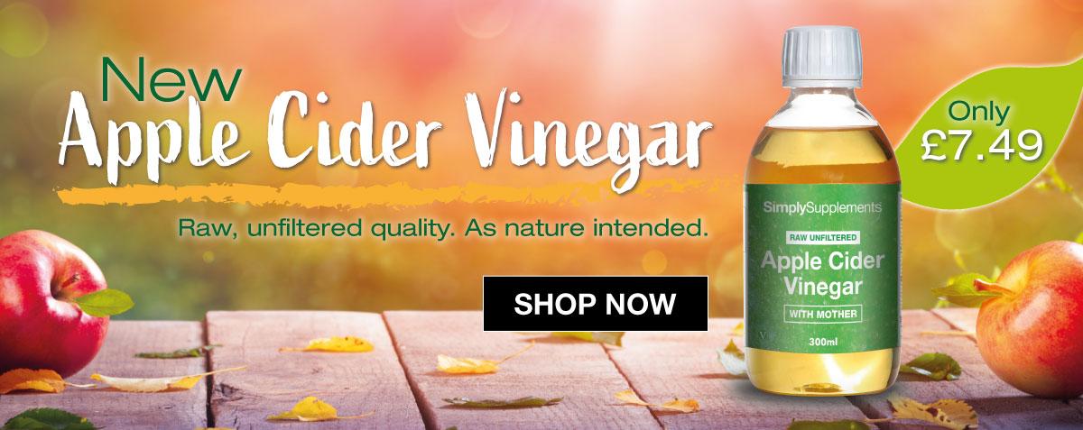 NEW: Apple Cider Vinegar Liquid