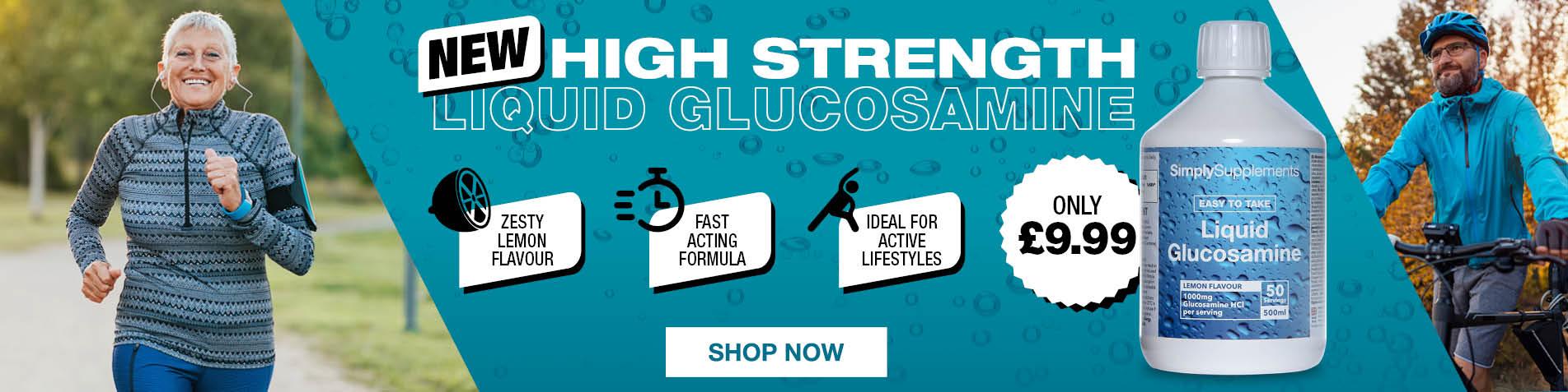 NEW: Liquid Glucosamine
