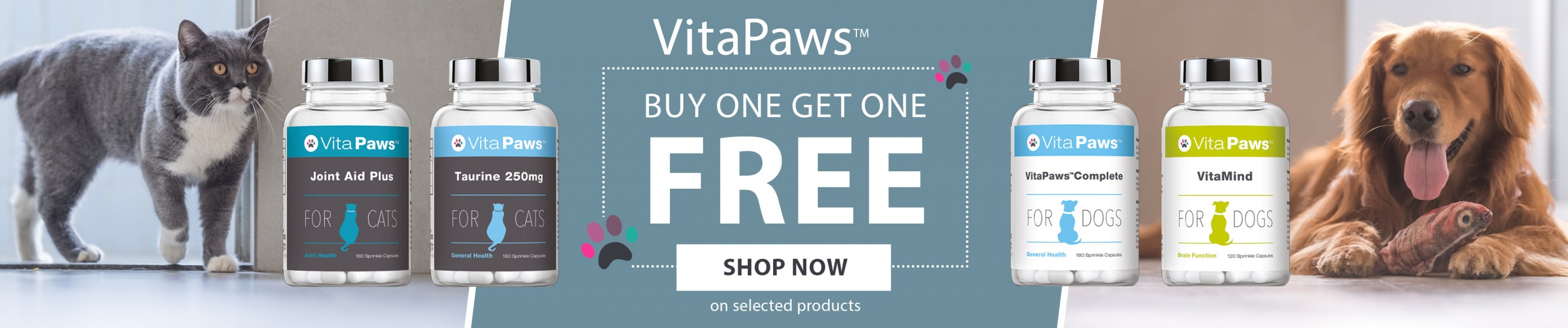 VitaPaws - Buy One Get One Free