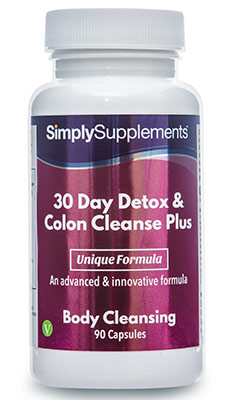 30 Day Detox & Colon Cleanse Plus
