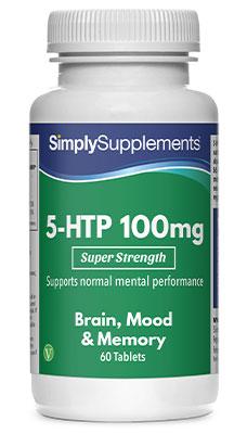 5 HTP Tablets 100mg - E575