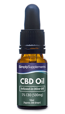 CBD Olive Oil 500mg (5% Strength)