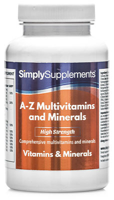 A to Z Multivitamins - S406