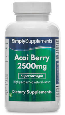 Acai Berry Capsules 2500mg - E827