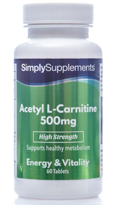 Acetyl L-Carnitine Tablets 500mg