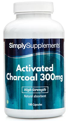 Activated Charcoal Capsules 300mg