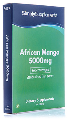 African Mango Tablets 5,000mg
