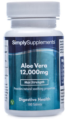 Aloe Vera Tablets 12000mg - E593
