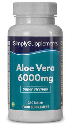 Aloe Vera Tablets 6000mg - E193