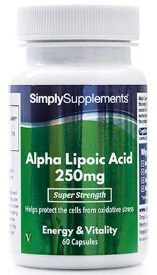 60 Capsule Tub - alpha lipoic acid supplements