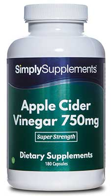 Apple Cider Vinegar Capsules 750mg