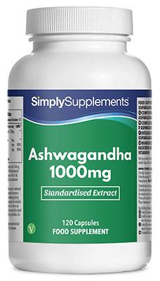 Ashwagandha Extract Capsules 1000mg - E115